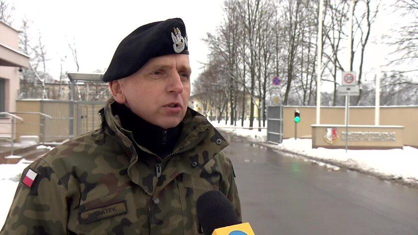 Ppłk Piotr Walatek, Rzecznik prasowy Dowództwa Operacyjnego RSZ