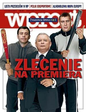Okładka tygodnika Wprost nr 36/2007 (1289)