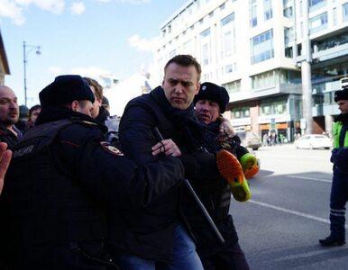Nawalny ukarany za niedzielny protest. Spędzi w areszcie 15 dni