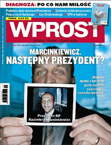 Okładka tygodnika Wprost nr 51/2009 (1404)