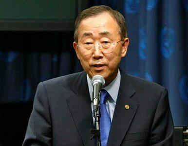Szef ONZ przestrzega przed atakiem na Syrię