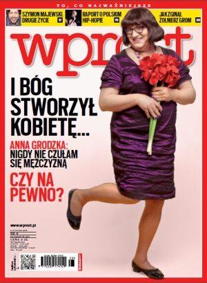 Okładka tygodnika Wprost nr 6/2013 (1563)