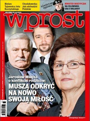 Okładka tygodnika Wprost nr 33/2013 (1590)
