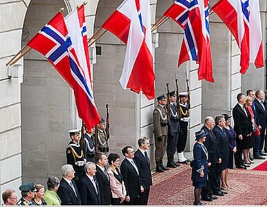 Królewskie przyjęcie w Pałacu Prezydenckim