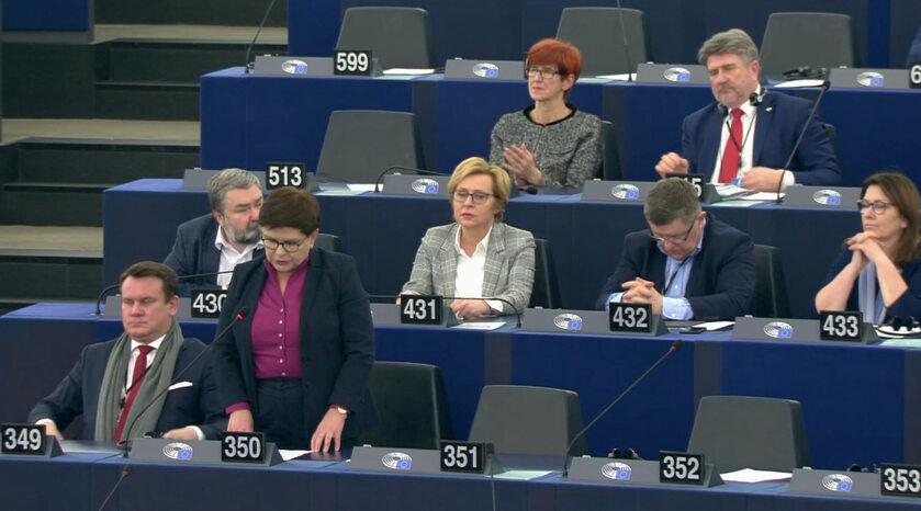 Europosłowie PiS w PE