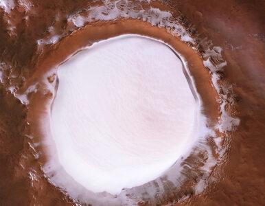Tak wygląda woda na Marsie. Europejska Agencja Kosmiczna pokazała...