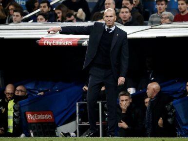 Kolejna strata punktów Realu Madryt. Zidane: Jestem zdegustowany