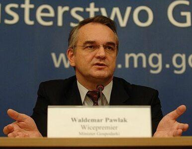 Pawlak: cena pieniądza jest zbyt wysoka