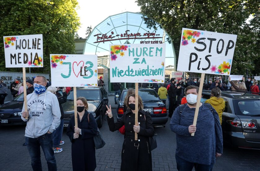 Protest słuchaczy Trójki