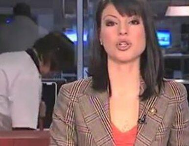 """Sprzątanie studia """"na żywo"""" w serbskiej telewizji"""