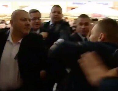 Atak na Komorowskiego w Toruniu