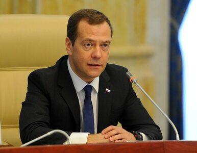 Miedwiediew: Rosyjski rząd podał się do dymisji