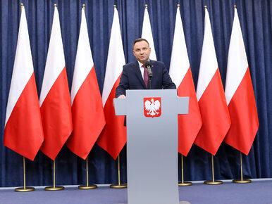 Prezydent Andrzej Duda: Nie rozumiem decyzji Komisji Europejskiej. Jest...