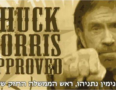 Chuck Norris: Izrael ma swojego twardziela
