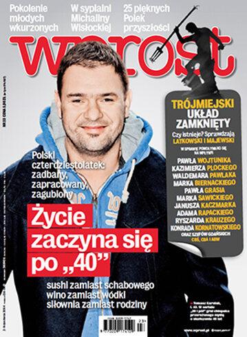 Okładka tygodnika Wprost nr 23/2014 (1631)