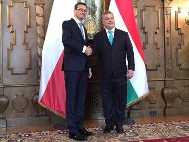 Morawiecki w Budapeszcie: Suwerenne państwa muszą mieć wybór, kogo...