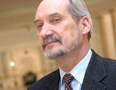 Macierewicz skomentował wyciek akt śledztwa ws. afery taśmowej