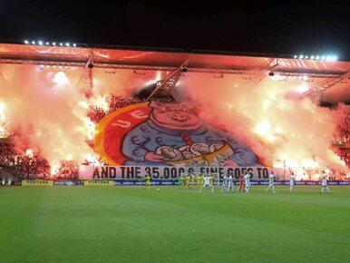 """Kibice Legii odpowiedzieli UEFA w swoim stylu. """"Świńska sektorówka"""" na..."""