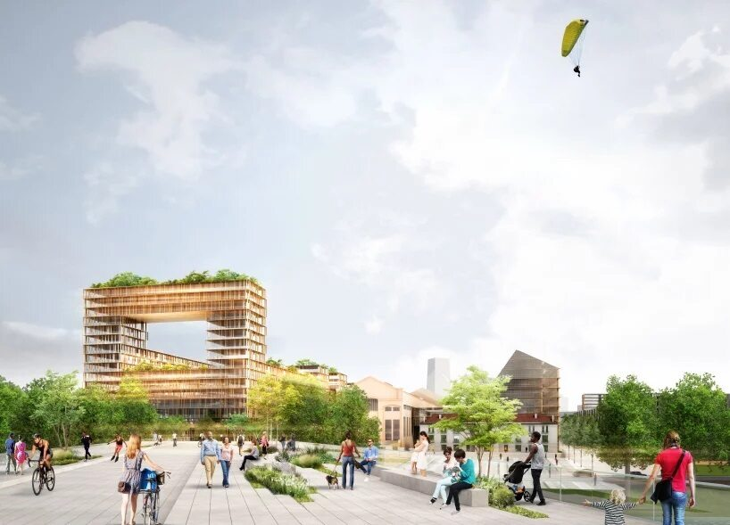 Wioska olimpijska na igrzyska w Paryżu w 2024 roku Wizualizacje wioski olimpijskiej na igrzyska w 2024 roku
