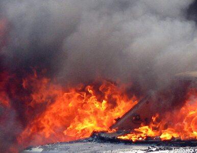 Na Moście Wandy w Krakowie zapalił się samochód - nie wiadomo, dlaczego