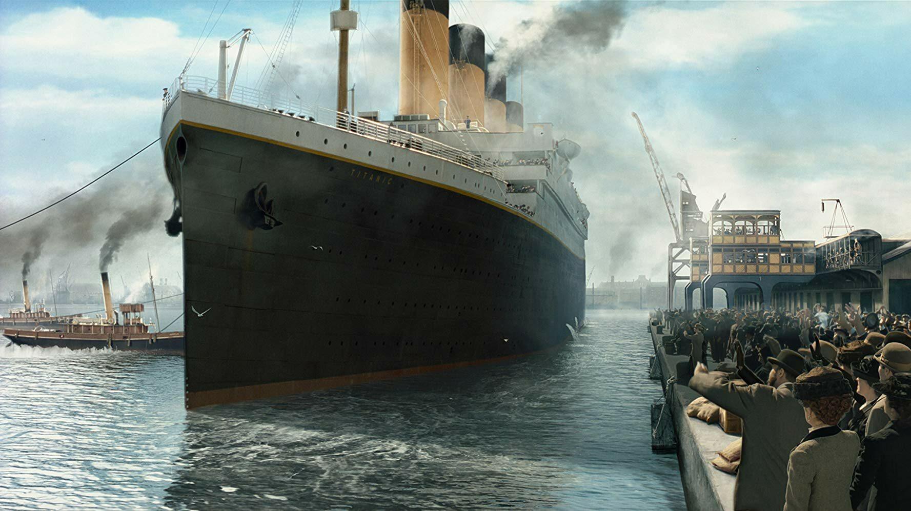 Kiedy doszło do katastrofy Titanica?