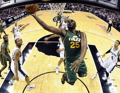 "NBA: ""Ostrogi"" rozbiły Utah Jazz"