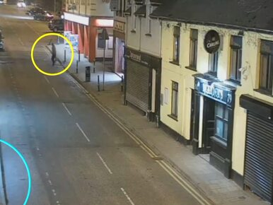 Zabójstwo Polaka w Irlandii. Policja publikuje nagranie i prosi o pomoc