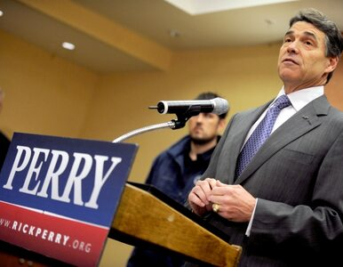 Rick Perry już nie chce rządzić Teksasem