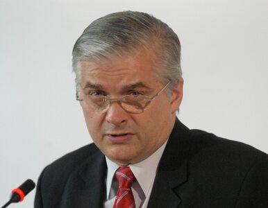 Cimoszewicz: Czułbym się spokojniej, gdyby Bieńkowska została premierem