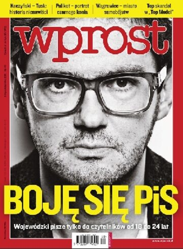 Okładka tygodnika WPROST: 40/2011