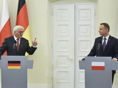 Prezydenci omówią kwestię reparacji. Będzie spotkanie Duda-Steinmeier