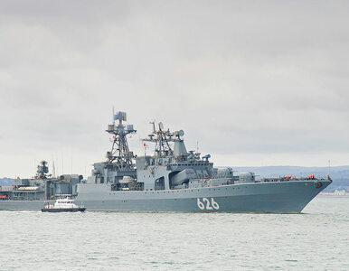 Rosyjski niszczyciel nie zawiódł. Uratował ukraińską załogę
