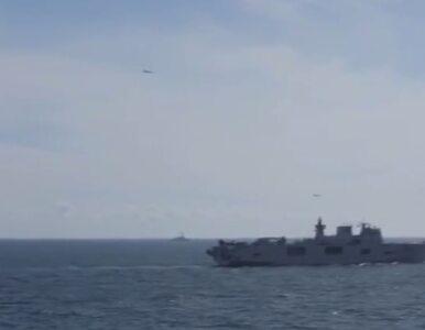 """Rosyjskie myśliwce nad statkiem USA. """"Dziękujemy za pokazy"""""""