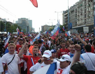 """Reuters """"wyróżnił"""" bójkę przed meczem Polska - Rosja"""