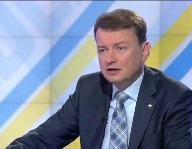 M. Błaszczak: Karanie za ochronę życia w szpitalu prof. Chazana jest...