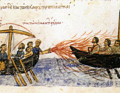 """Ogień grecki - bizantyńska """"wunderwaffe"""""""