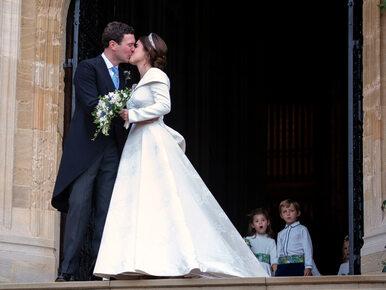 Wpadka na ślubie księżniczki Eugenii. Wszystko z powodu silnego wiatru