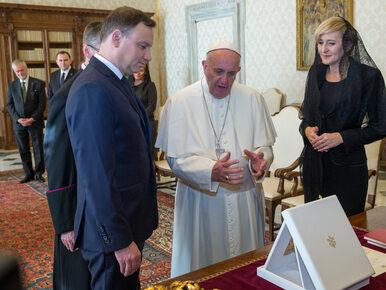 W poniedziałek audiencja pary prezydenckiej u papieża Franciszka
