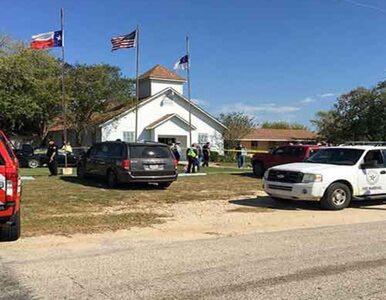 Masakra w kościele w Sutherland Springs. Nie żyje co najmniej 26 osób