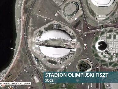 """""""Kosmiczne"""" zdjęcia stadionów na mundial w Rosji. Na co najmniej trzech..."""