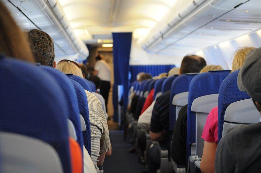 Pokład samolotu, zdjęcie ilustracyjne