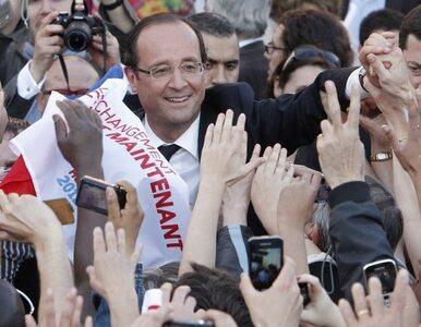 Hollande: Europa mnie potrzebuje. Wygram z Sarkozym