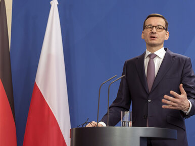 Premier Morawiecki w Monachium. Padło pytanie ws. ustawy o IPN