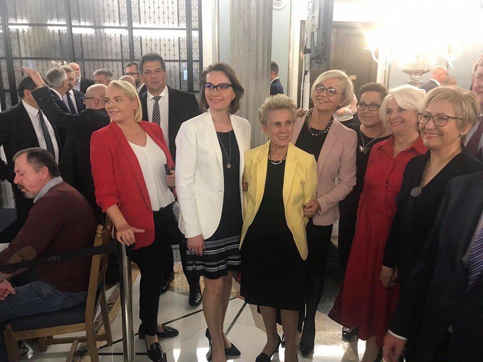 Uroczystość wręczenia zaświadczeń o wyborze posłów na Sejm RP IX kadencji