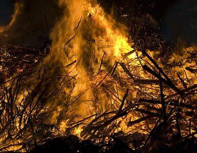 Pożar w Centrum Handlowym Promenada