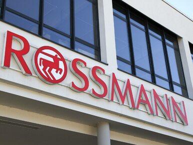 Wyjątkowa akcja Rossmanna. Niebieska linia przeciw przemocy