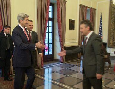 """Sikorski spotkał się z Kerrym. Będą rozmawiać o """"aferze podsłuchowej""""?"""