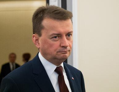 """Szef MSWiA po zatrzymaniu Kajetana P. """"To dowód, że policja nie zajmuje..."""