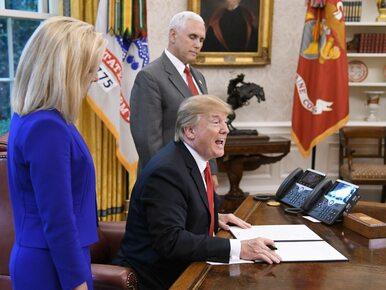 Trump podpisał dekret o nierozdzielaniu rodzin nielegalnych imigrantów....