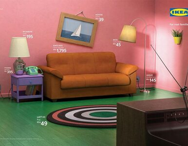 IKEA odtworzyła słynne salony z seriali. Rozpoznasz je w mig!